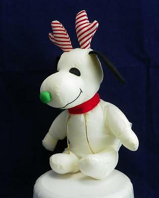 Peanuts Whitman's Snoopy Plush Scarf and Reindeer Antlers VGUC