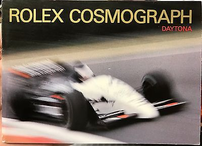 VINTAGE ROLEX Cosmograph Daytona Booklet, various years available