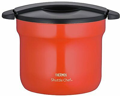THERMOS Vacuum Thermal Insulation Pot Cooker 4.3L tomato KBF-4501 TOM Japan F/S