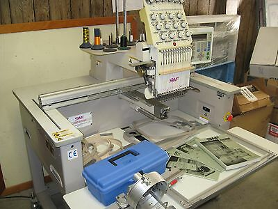 SWF 1201 commercial embroidery machine