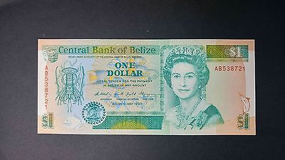 Belize 1990 One Dollar Bank Note
