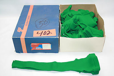 "New Old Stock Vintage Double T 15"" Stirrup Baseball Socks 10 Pair Kelly Green"