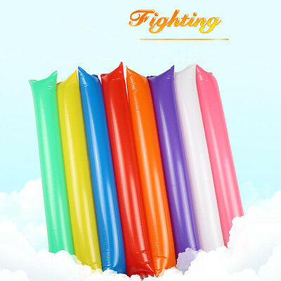 200Pcs Inflatable Cheer Sticks Noise Maker For Party Concert Football Basketball