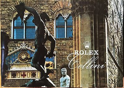 Rolex Cellini booklet, various years available
