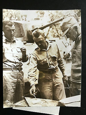 1944 Photo General Stilwell With Chinese Troop To Link Up Burma Road 史迪威将军与中国国民军