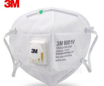 1-50pcs 3M 9001V  Dust Respirator Folding Protection Mask PM2.5 Ear Head Hang