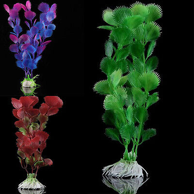 Artificial Plastic Water Grass Plant for Fish Tank Aquarium Ornament Decoration