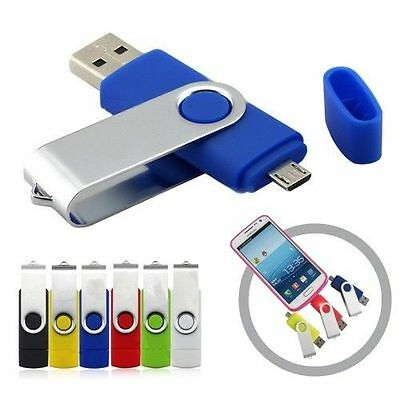 64GB/128GB//256GB OTG Micro USB 2.0 Flash Drives Memory Stick for Android Tablet