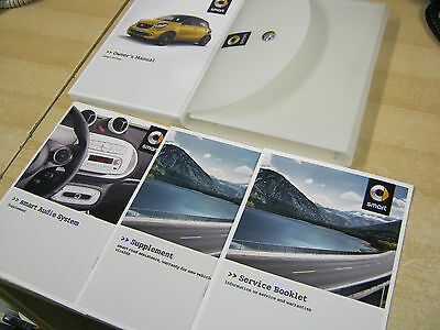 Smart Forfour   2013-2015  Owners Manual Handbook And Radio Book