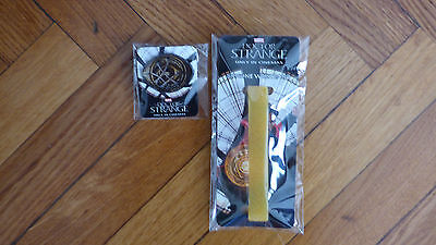 Doctor Strange Bracelet Silicone et Pin's - Silicone Wrisband and Pin Badge