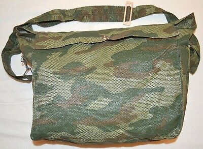 Russian Army canvas BAG FLORA pattern for PMK 3 mil Gas mask BAG ONLY!!