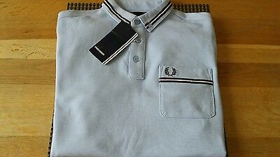 Fred Perry Youth Boys Polo Shirt Age 14-16Yrs Young L Genuine New Rrp£40