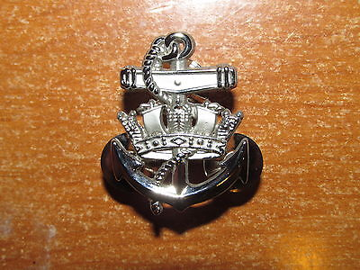 Royal Canadian Navy Sea Service Badge Silver Level 3 nice