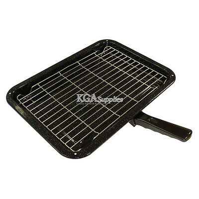 Universal Cooker Oven Grill Pan Detachable Handle 380MM X 280MM