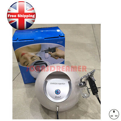 Oxygen Injection Spray Water Jet Peel Skincare Wrinkle Removal Whitening Machine