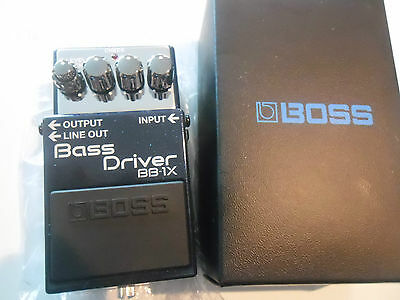 BOSS BB1-X BASS DRIVER PEDALE EFFETTO PROFESSIONALE   Roland