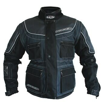 Progrip Adult Motocross/Enduro Jacket- Large- comes with Free Protection Pads