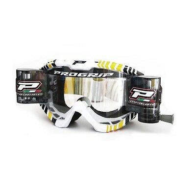 Progrip 3458 XL Roll Off Goggles Yellow