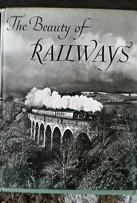 The beauty of railways by c hamilton, max parrish 1960 book