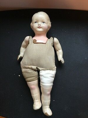 Effanbee Cloth And Composition Doll--TLC