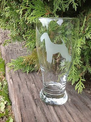 AiredaleTerrier Set of Four Pub Glasses. Engraved Etched Personalized