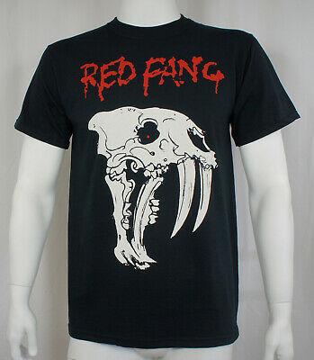 Authentic RED FANG Band Bearded Skull T-Shirt S M L XL 2XL 3XL NEW