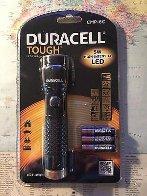 Duracell Tough LED Torch with Cree 5 Watt High Intensity Bulb