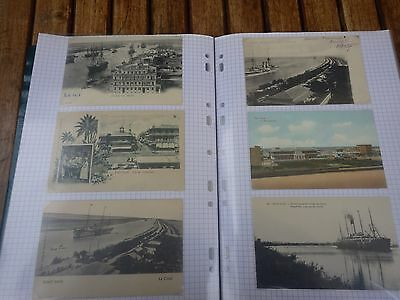 CARTES POSTALES, PHOTOGRAPHIES d'EGYPTE (PORT-SAID à ASWAN) - POSTAL CARDS EGYPT