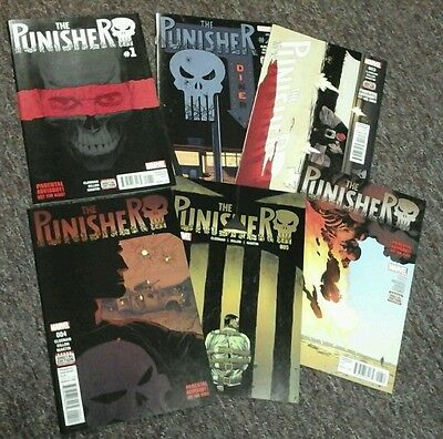 The Punisher 1 2 3 4 5 6 New Series NM 1st print MAX 2016