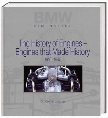 BMW - The History of Engines by Dr Karlheinz Lange Hardcover Book (English)