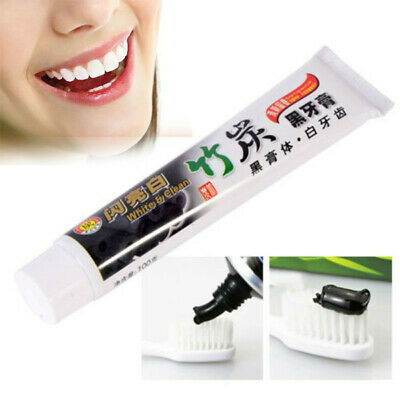 Pro Bamboo Charcoal Teeth Use Whitening -Black Toothpaste Oral Hygiene Care 100g