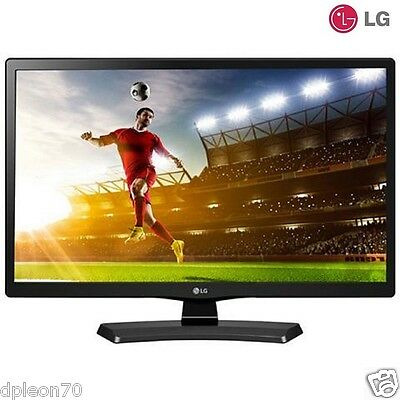 "Monitor 24"" TV televisore LG 24MT48VF-PZ MONITOR TV LED HD READY DVB-T2  C  S2"