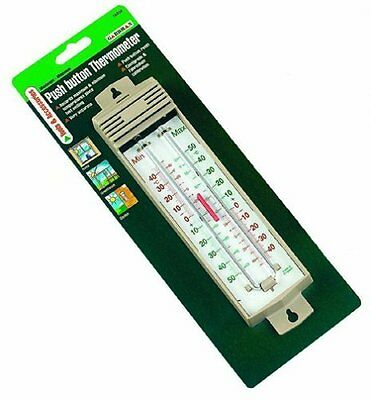 Gardman Maximum/Minimum Thermometer Beige Home/Garden