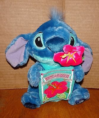 Disney Plush Mothers Day LILO STITCH-BISCUS ~  8""