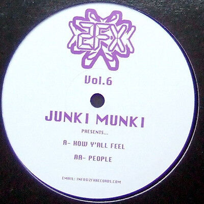"12"" Uk**junki Munki - Vol. 6 (2Fx Records '07)***23270"
