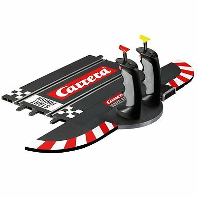 Carrera Evolution Slot Car Racing 2.4GHz Wireless Dual Controller Grid Startline