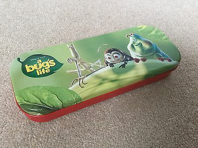 Disney Pixar A Bugs Life Vintage Pencil Tin Case