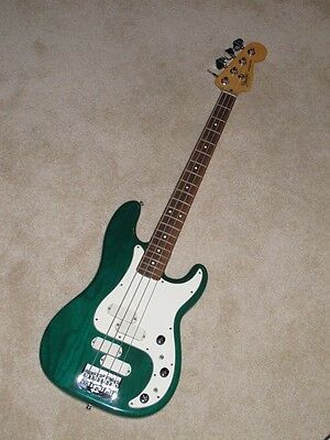 Vintage 1982-1985 Electric Fender Precision Bass Elite II w/Hard Shell Case