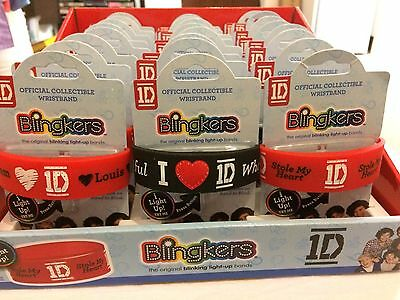 1D One Direction Blingkers Official Collectible Wristband Bracelet Light Up