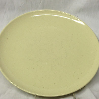 """Desertone Usa Dinner Plate 10"""" Speckled Yellow Coupe"""