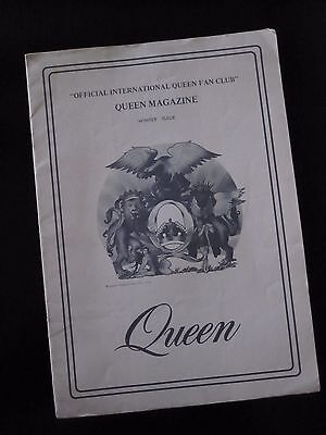 Queen  :  Official Fan Club Magazine  -  Winter Issue 1976
