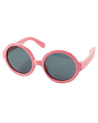 New Carter's Sunglasses Pink Round Frame Size baby 0 - 24m NWT Flexible Arms