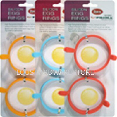 pack of 2 Silicone Pocheuse Oeuf Ring Moules