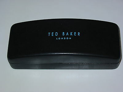 Ted Baker London Sunglasses Eyeglasses Glasses Case Black 100% Authentic