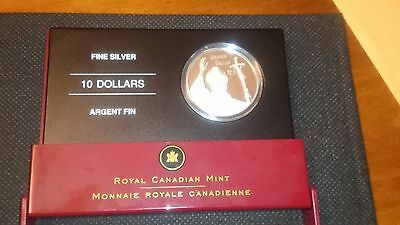 Silver Coin 2005 Canada 10 Dollar Fine Mint Pope John Paul Ii Royal Canadian