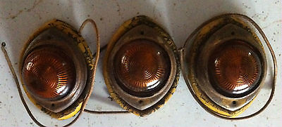 3 Vintage Clearance Lights *Can Ship From Danville, WA To Save $*