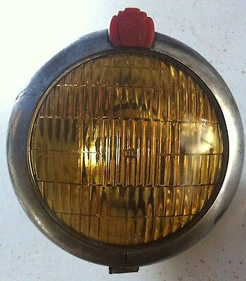 Vintage Used S&M Yellow Fog Light No. 670 *Can ship from Danville, WA TO SAVE $*