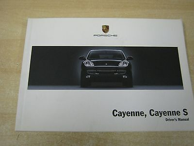 Porsche Cayenne And S Owners Manual Handbook  2002-2008