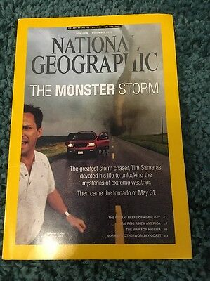 National Geographic November 2013 Unread Storm Chaser New America Norway