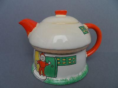 Rarer 1 pint capacity Shelley Mabel Lucie Attwell boo boo teapot. C.1934.